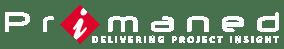 Primaned_White - Master Logo